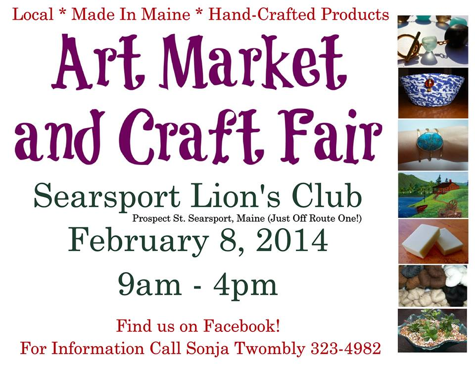 Searsport Art Market and Craft Fair